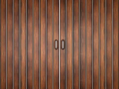 stockvideo's en b-roll-footage met sliding wood doors. - artbeats