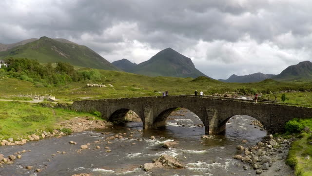 Sligachan Bridge, Isle of Skye, Scotland, HD