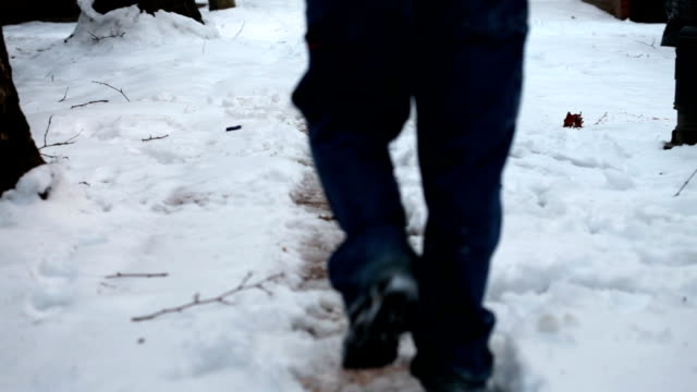 slip and fall - ice stock videos & royalty-free footage