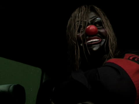 Slipknot 'Clown' on what he looks forward to about going home at the Download Festival 2009 at Derby England