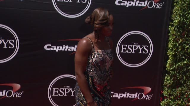 sloane stephens at the 2015 espys at microsoft theater on july 15 2015 in los angeles california - microsoft theater los angeles stock videos and b-roll footage