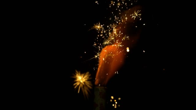 slomo flame of fire cracker - flame stock videos & royalty-free footage