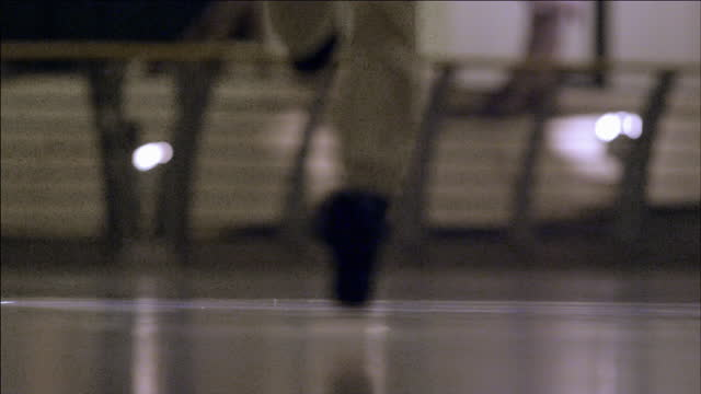 slomo person runs towards camera - low section stock videos & royalty-free footage
