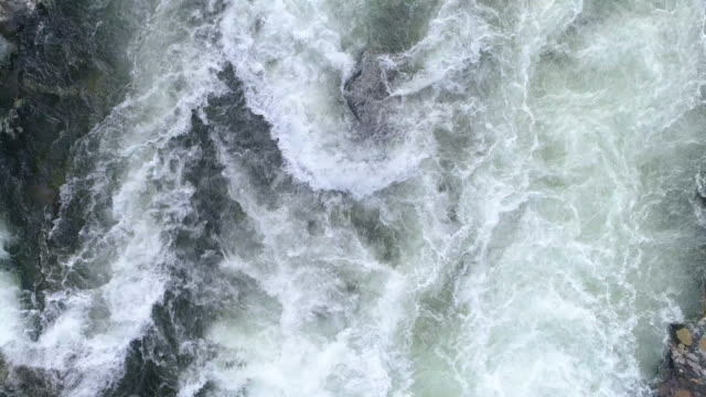slomo river rapids - flowing stock videos & royalty-free footage