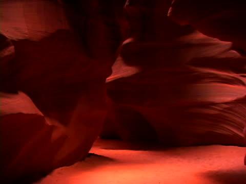 slot canyon - slot canyon stock videos & royalty-free footage