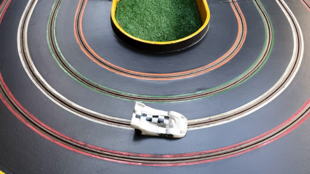 slot car - rivalry stock videos & royalty-free footage