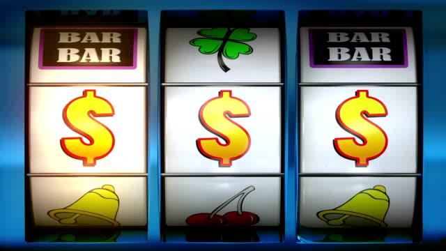 vidéos et rushes de machine à sous et gagnant de dollars ! - machine à sous