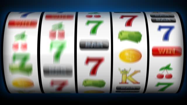stockvideo's en b-roll-footage met hd slot machine - gokken