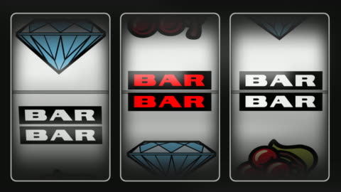 slot machine winner diamonds - luck stock videos & royalty-free footage
