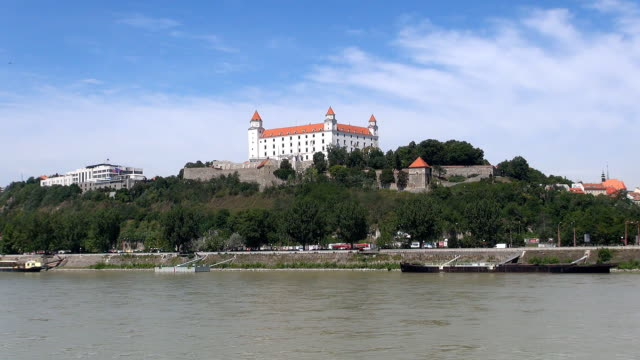 slovak national historical museum - bratislava, slovakia - eastern european culture stock videos & royalty-free footage
