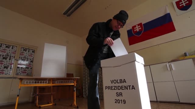 slovaks vote in the first round of a presidential election that a vocal government critic appears poised to win after an investigative journalist's... - critic stock videos & royalty-free footage