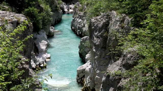 Slovenia, Bovec, Trenta valley, the gorges of Soca river
