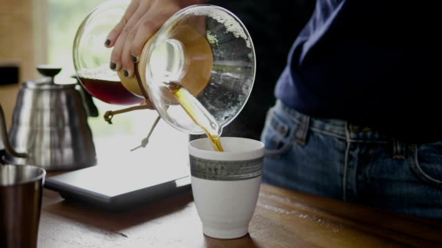 slow coffee - iv drip stock videos and b-roll footage