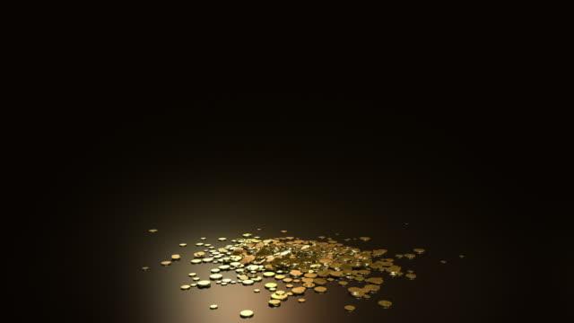hd :スロウ落ちるドル記号文字 - 金利点の映像素材/bロール