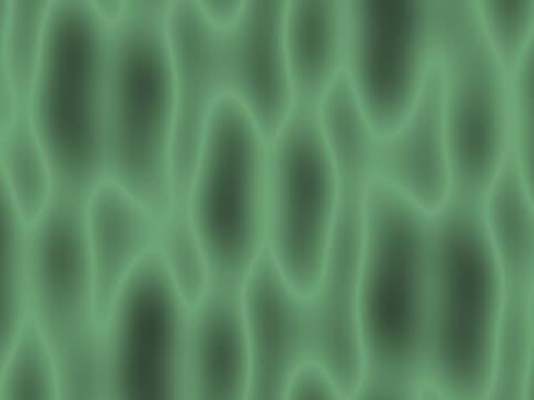 CU CGI Slow flowing amoeba in motion
