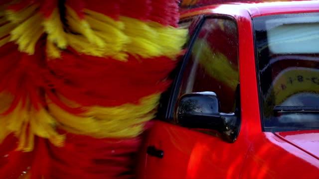slow motion biltvätt maskin - biltvätt bildbanksvideor och videomaterial från bakom kulisserna