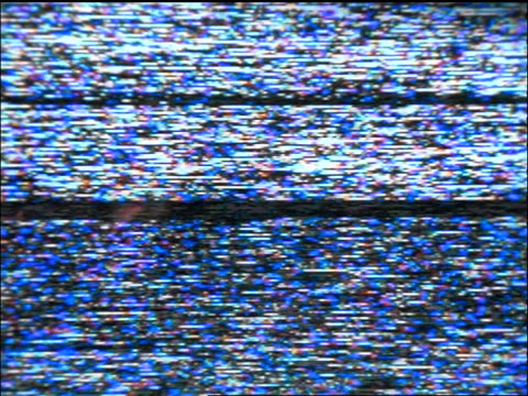 slow motion close up static on laptop screen - television set stock videos & royalty-free footage