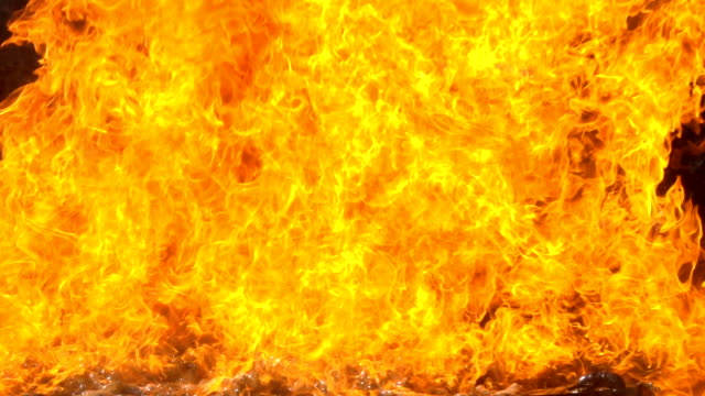 slow motion fire backgrounds - fire natural phenomenon video stock e b–roll