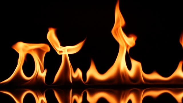 slow motion fire flame ignition - flame stock videos & royalty-free footage