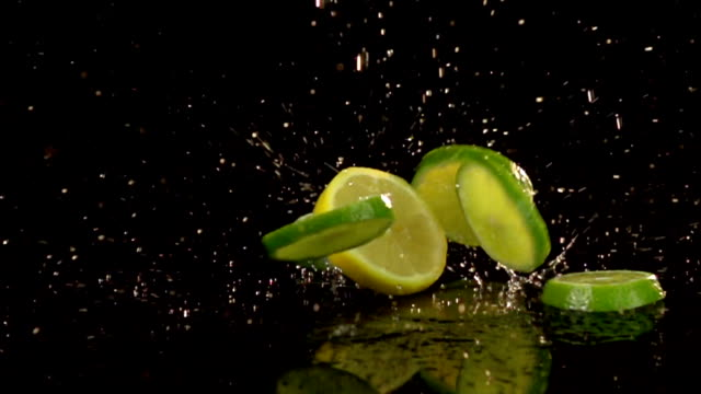 Slow Motion Lemons and Limes