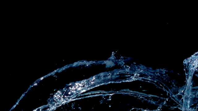 slow motion multi waves - water splash stock videos & royalty-free footage