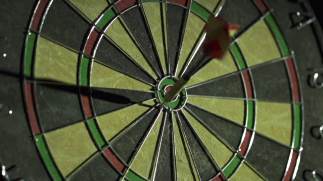 Slow Motion of Dart Game