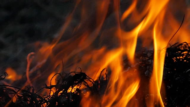 slow motion of fire and smoke. - fireball stock videos & royalty-free footage