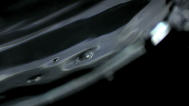 slow motion of moving water surface - frische stock videos & royalty-free footage