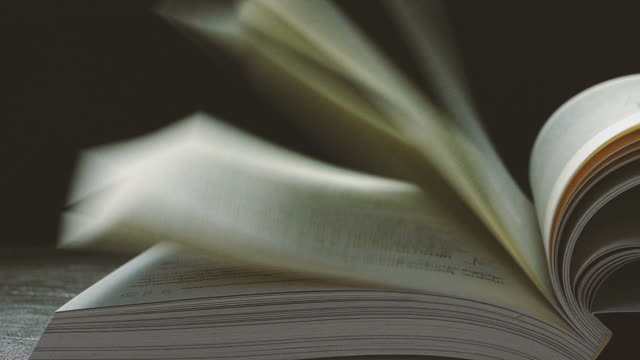 slow motion of white books pages turning. - wisdom stock videos & royalty-free footage