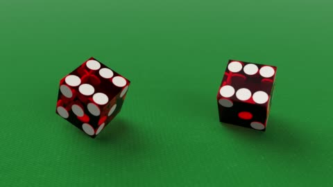 slow motion rolling dices and getting six six - gambling stock videos & royalty-free footage