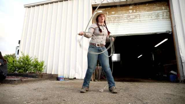 Slow-Motion Roping Lasso