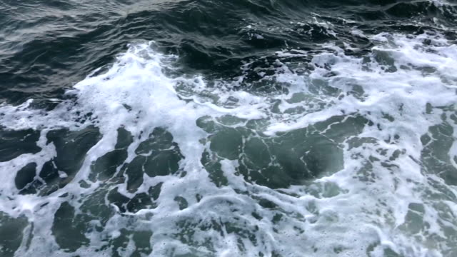 slow motion: sea wave - rough stock videos and b-roll footage