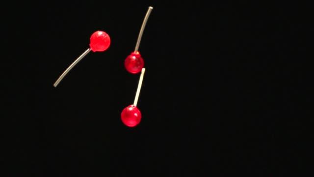 lollipops - slow motion - lollipop stock videos & royalty-free footage