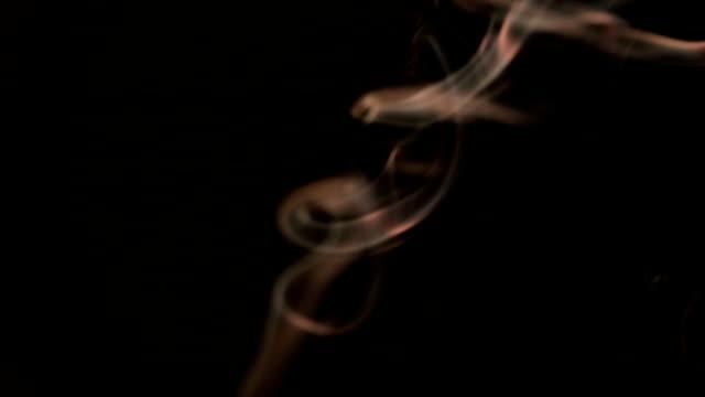 Slow Motion: Smoke yellow color