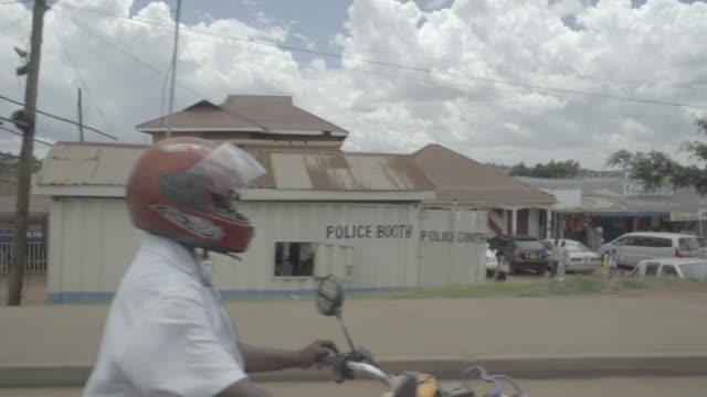 slow motion street in kampala - kampala stock videos & royalty-free footage