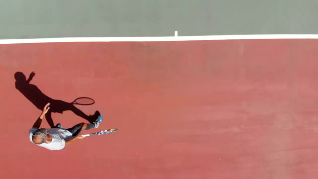 slow motion tennis player - competition round stock videos and b-roll footage