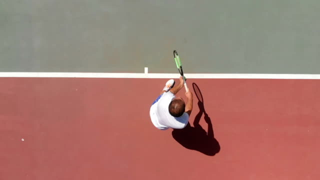 slow motion tennis player - match sport stock videos & royalty-free footage