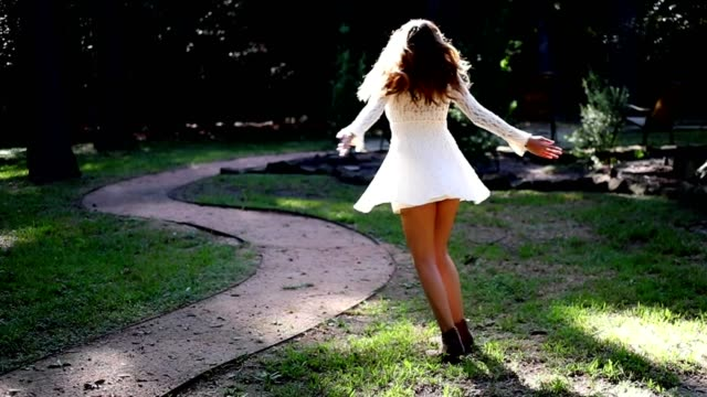 slow motion - fashion model stock videos and b-roll footage