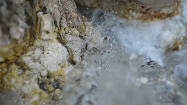 slow motion view of river water flowing - falling water stock videos & royalty-free footage