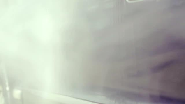 Slow motion: washing car