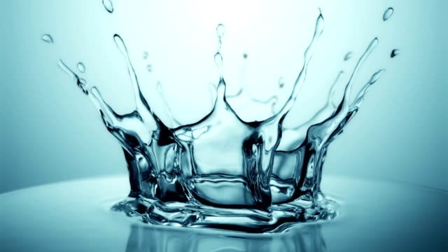 slow motion water drop splash - water stock videos & royalty-free footage
