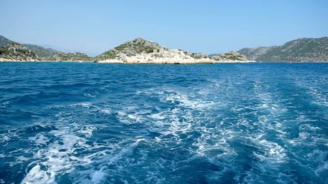 スローモーション: 水の波 - 夏休み点の映像素材/bロール
