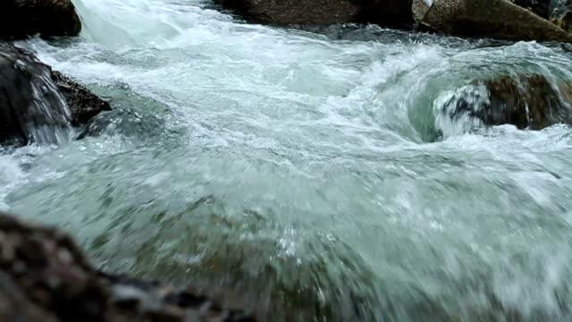 HD スローモーション滝の音。