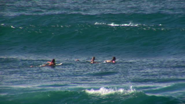 Ralenti vagues & Surfers