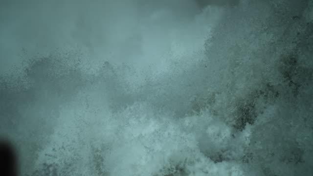 slow motion yellowstone falls upper falls waterfall - lower yellowstone falls stock videos & royalty-free footage