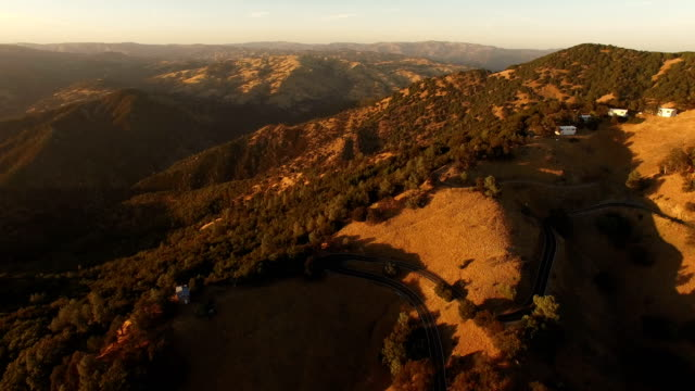 slow pan over golden california hills - marin stock videos & royalty-free footage