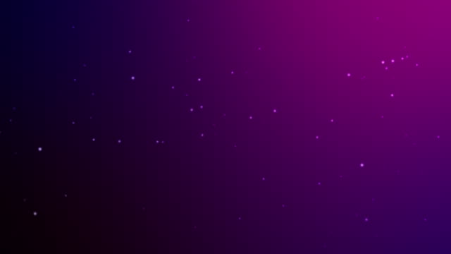Slowly falling magenta bokeh,glitter lights,defocused light reflections like snowing on a colored gradient 4k loopable blurred motion video for concepts of winter, snow, love, transitions, Christmas,party-social events,celebration events,birthday events