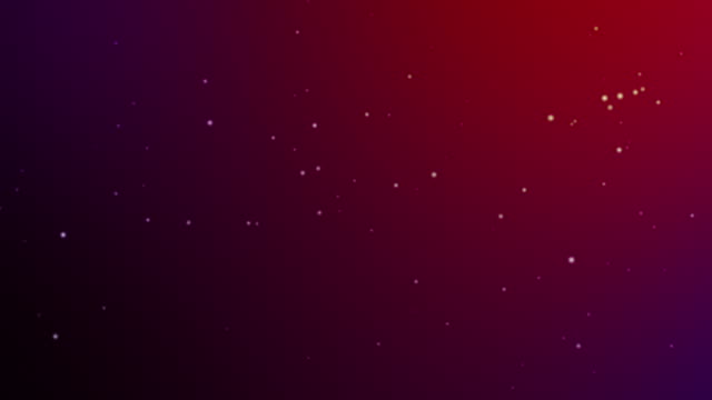 Slowly falling red bokeh, glitter lights, defocused light reflections like snowing on a colored gradient 4k loopable blurred motion video for concepts of winter, snow, love, transitions, Christmas, party-social events, celebration events, birthday events