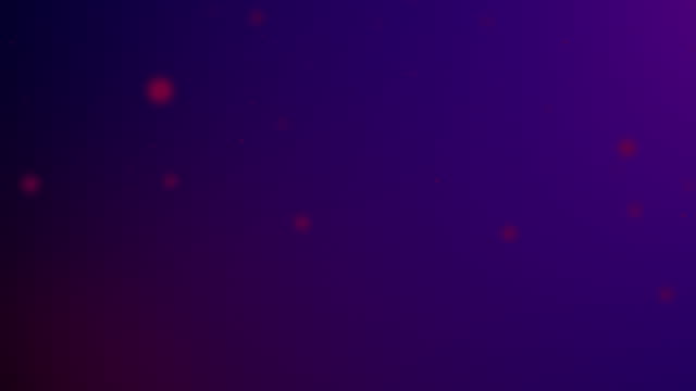 slowly moving purple bokeh, glitter lights, defocused light reflections on a colored gradient 4k loopable blurred motion video for concepts of winter, snow, love, transitions, christmas, party-social events, celebration events, birthday events - less than 10 seconds stock videos & royalty-free footage