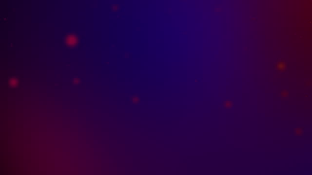 slowly moving purple, magenta bokeh, glitter lights, defocused light reflections on a colored gradient 4k loopable blurred motion video for concepts of winter, snow, love, transitions, christmas, party-social events, celebration events, birthday events - less than 10 seconds stock videos & royalty-free footage